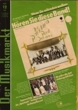"""If you want to be in, you must hear this band!"", 'Der Musikmarkt' cited a German review in 1975"